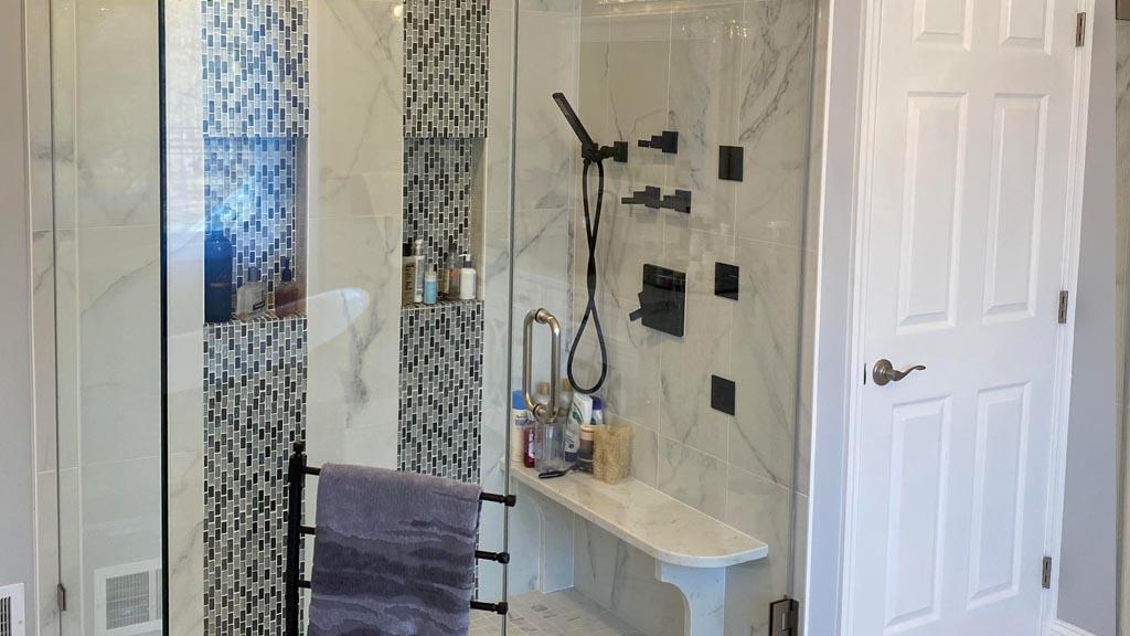 old bridge nj shower remodel